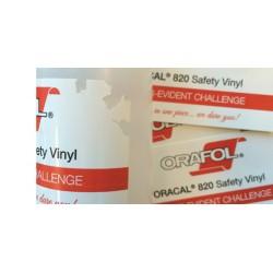 folia plombowa oracal 820 biała sitodruk druk transferowy arkusz