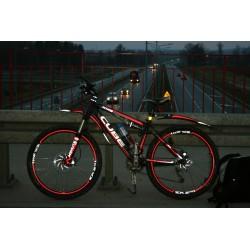 Taśma folia samoprzylepna rowerowa odblaskowa na rower (mb)